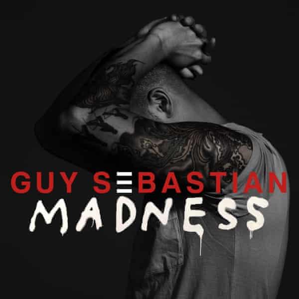 Cover art for Guy Sebastian's eighth studio album Madness.