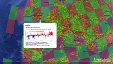 London temperature data