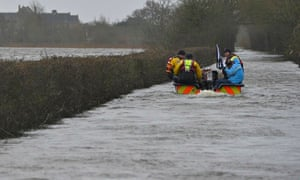 A boat operated by emergency services