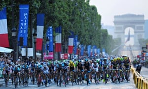 Tour de France final stage