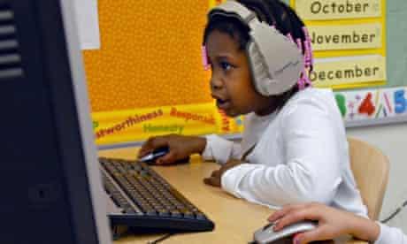 school children computers