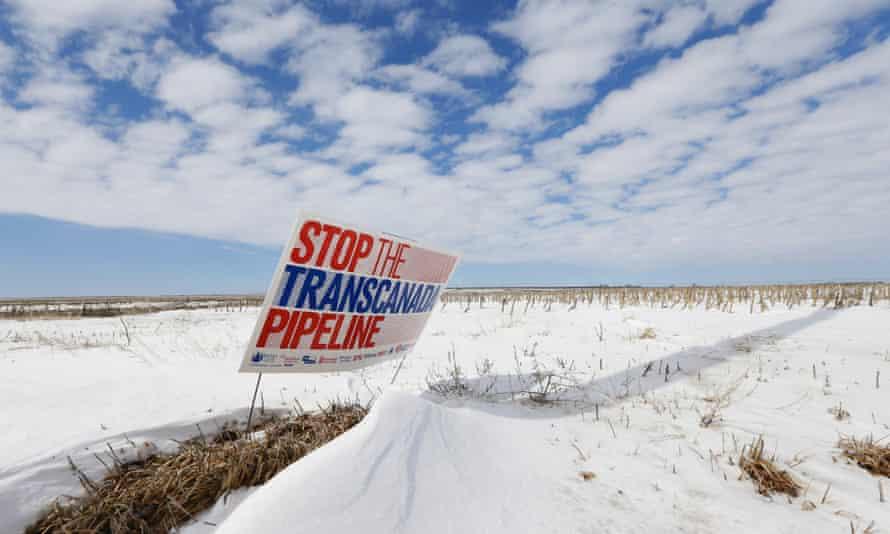 Keystone protest Nebraska