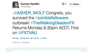 Asher's zombie spam