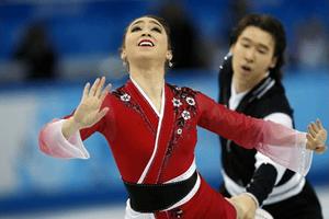 Cathy Reed at Sochi