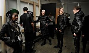 General Idea - Backstage - Mercedes-Benz Fashion Week Fall 2014