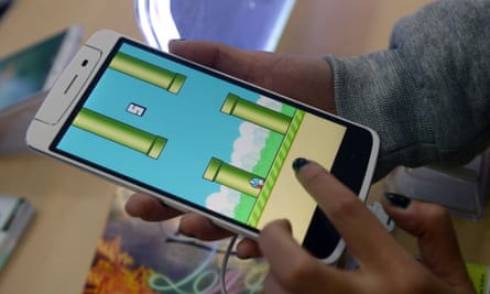 flappy bird game on phone