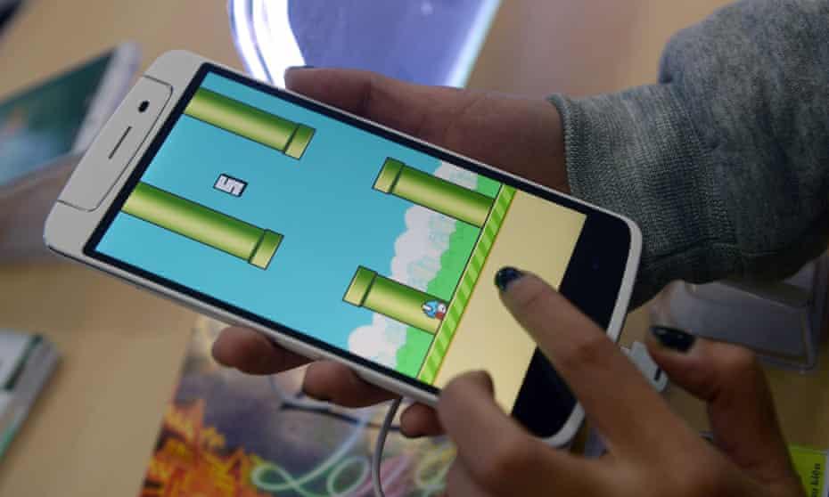 flappy bird game on phone