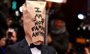 No longer famous … Shia LaBeouf attends the Nymphomaniac Volume I (long version) premiere in Berlin.