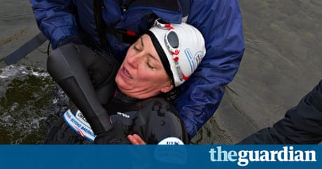 Davina mccall pulled from windermere during charity for Charity motors 8 mile lahser