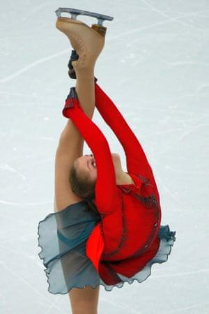 Camino Otoñal: Sochi 2014: Yulia Lipnitskaya wows crowds