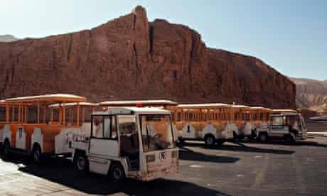 Egyptian Tourist Destinations Struggle