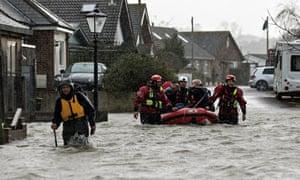 Walton-on-Thames floods