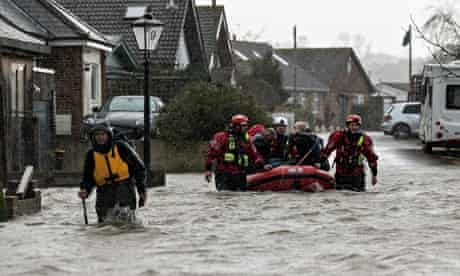 Walton-on-Thames floods
