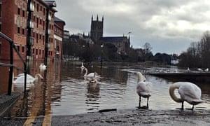 Worcester floods