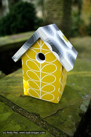 Nestboxes: Nestboxes designed by fashion designers