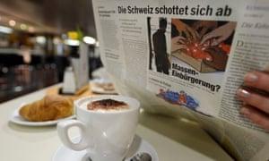 Switzerland limits immigration