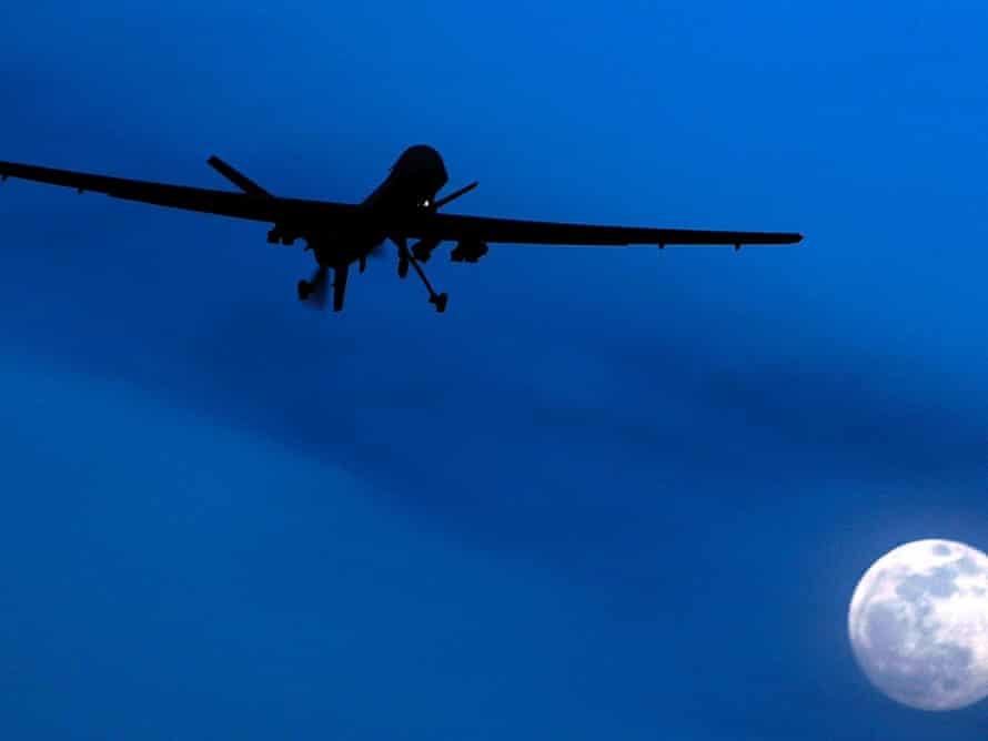 US drone strike