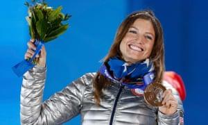 朱莉娅曼库索高山滑雪铜牌