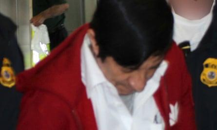 Jorge Sosa, a former Guatemalan soldier