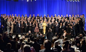 86th Academy Awards Nominee Luncheon group shot