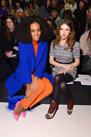 BESTPIX - Milly By Michelle Smith - Front Row - Mercedes-Benz Fashion Week Fall 2014
