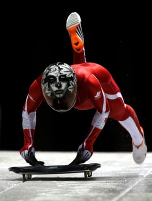 Canada's Sarah Reid has a somewhat gothic creation