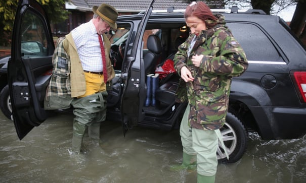 UK floods: Cameron says 'money is no object' – as it