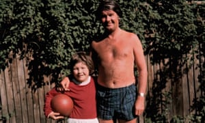 Ben Watt with his father