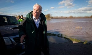 Environment Agency chief Lord Chris Smith
