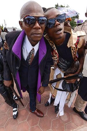FTA: La Sape: Sapeurs, members of La Sape movement, in Kinshasa