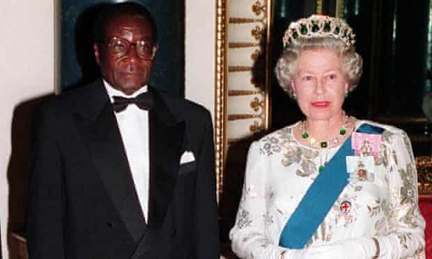 Mugabe and queen
