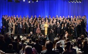 Academy Award nominees attend the 86th Academy Awards nominee luncheon at The Beverly Hilton Hotel.