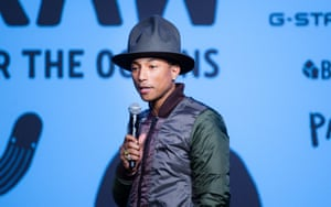Pharrell Williams Bionic Yarn X G-Star 'Raw for the Oceans' Denim launch