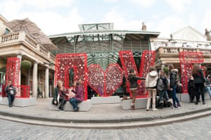 Volsec Valentines Day: BHF love installation 1