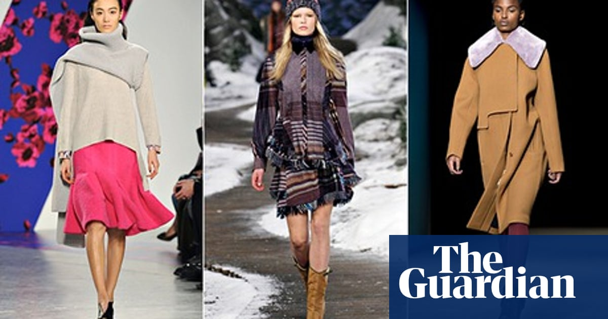 New York Fashion Week Look Hot In The Cold Victoria Beckham The Guardian