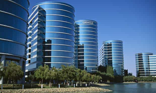 Oracle building in Silicon Valley