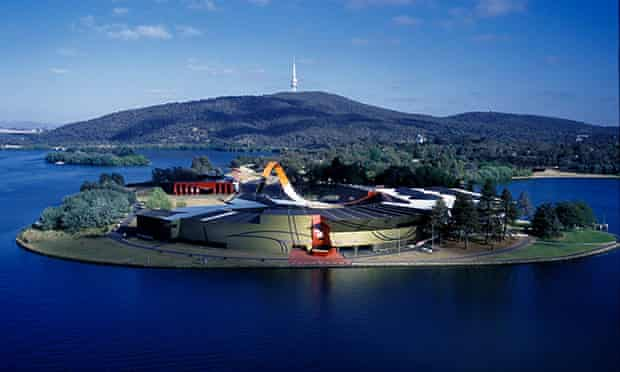National Museum of Australia aerial view