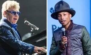 Elton and Pharrell