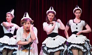 Rebecca Howell, Caroline Quentin, Alice Bailey Johnson and Zoe Rainey in Oh What A Lovely War