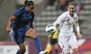 Marie-Laure Delie and Casey Stoney
