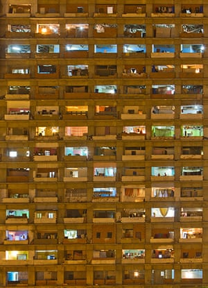Torre David Caracas: Torre David is home to a community of more than 750 families, living in wh