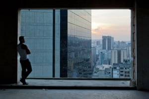 Torre David Caracas: The high-rise was originally conceived as a bank