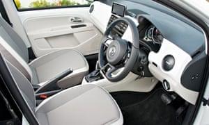 interior of VW e up