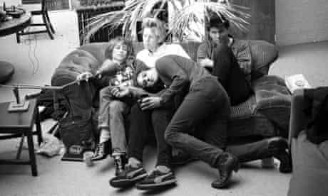Kim Gordon with Sonic Youth, 1984