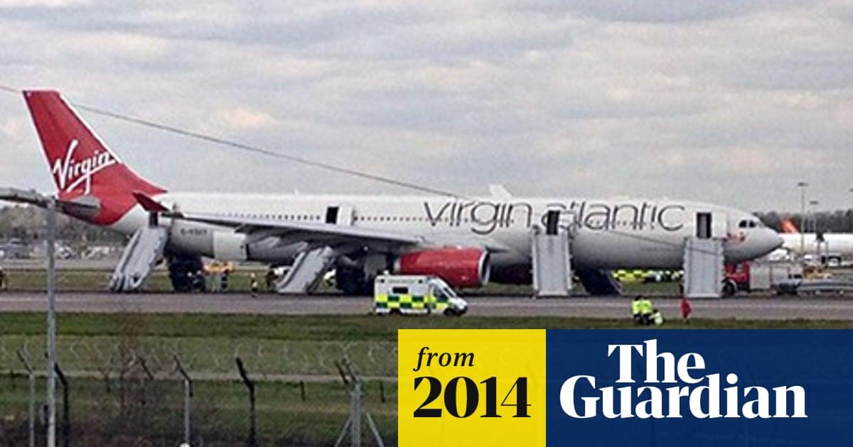 Virgin Atlantic emergency landing and escape chute 'mayhem