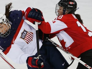 Women S Olympic Ice Hockey Canada 3 2 Usa As It Happened Sport