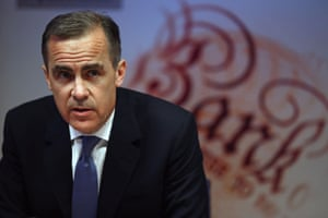 Governor of the Bank of England Mark Carney speaks during the bank's inflation report news conference in London on February 12, 2014./