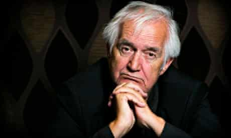 Henning Mankell … 'Now the counterattack against my tumours will begin.' Photograph: Felix Clay for