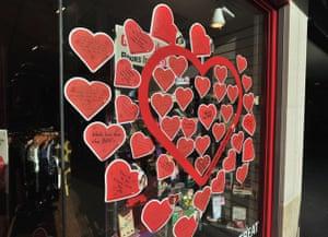 Volsec Valentines Day: BHF shop window