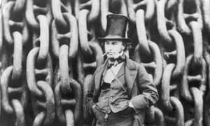 Engineer and inventor Isambard Kingdom Brunel.